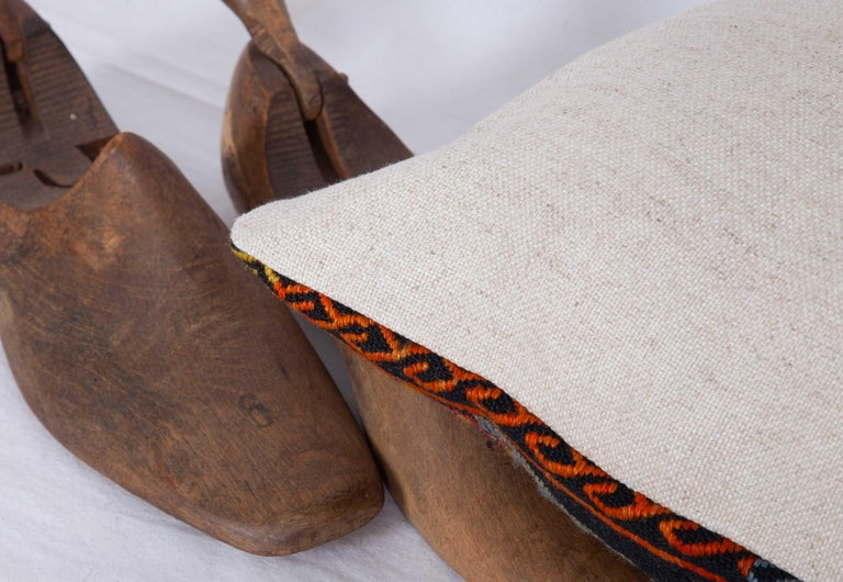 Antique Kilim Pillow Cases Made from a Late 19th Century Anatolian Cicim Kilim For Sale 3