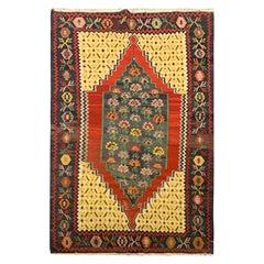 Antique Kilim Rug Caucasian Karabagh Kilim