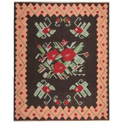 Antique Kilim Rugs, Handwoven Traditional Rugs, Carpet from Karabagh