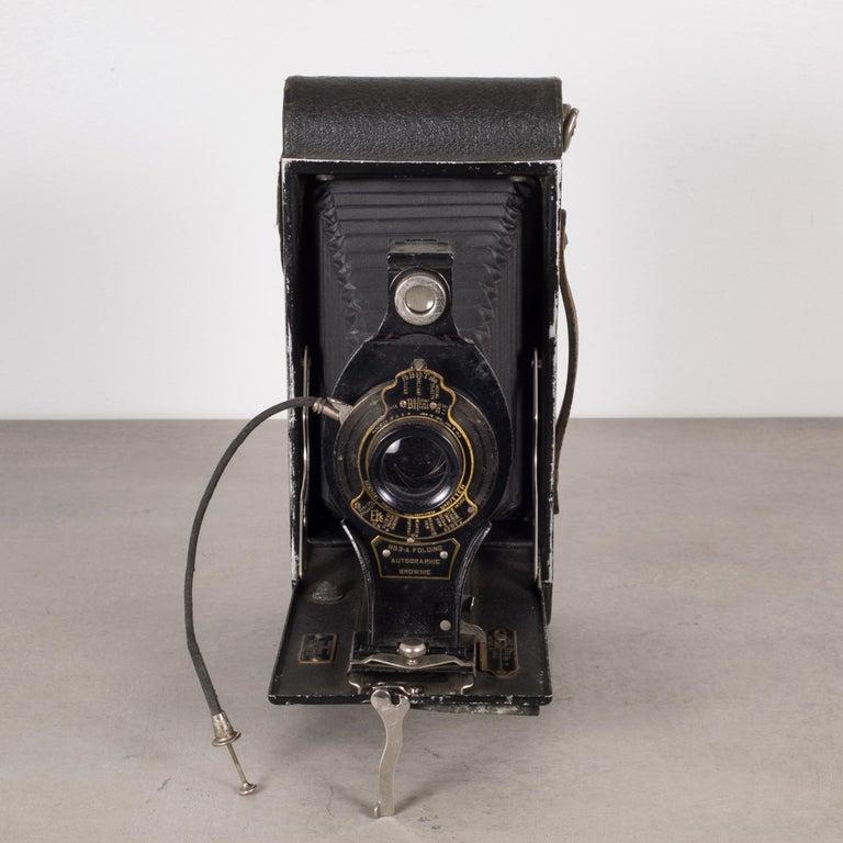 Metal Antique Kodak No. 3A Folding Camera, circa 1910