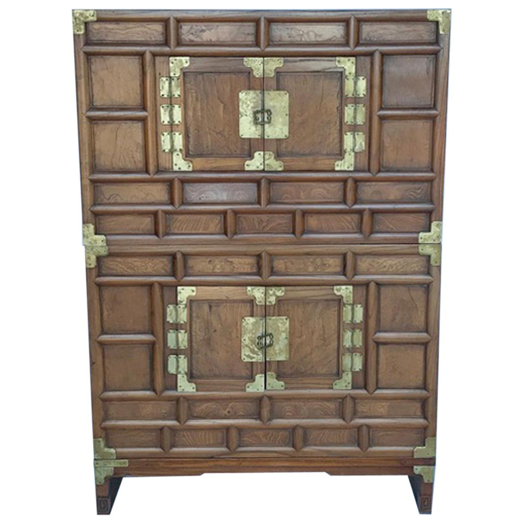 Antique Korean Blanket Chest
