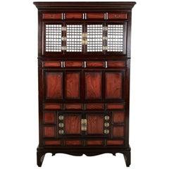 Antique Korean Clothing Cabinet