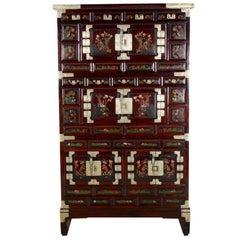 Antique Korean Fitted Kitchen Cabinet