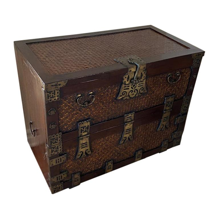 Antique Korean Tansu Chest