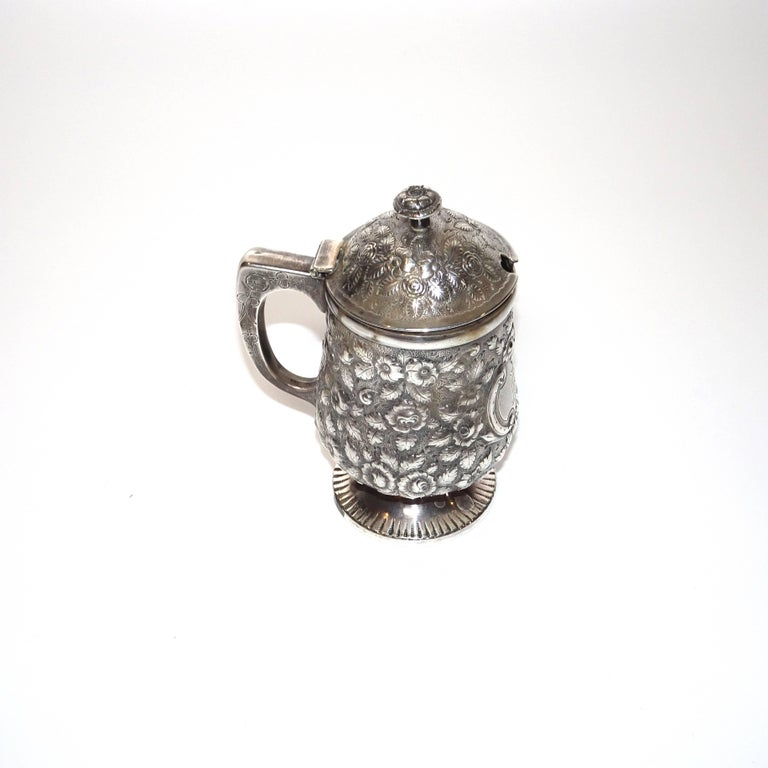 Antique Krider & Biddle sterling silver jelly pot from A.E. Warner.