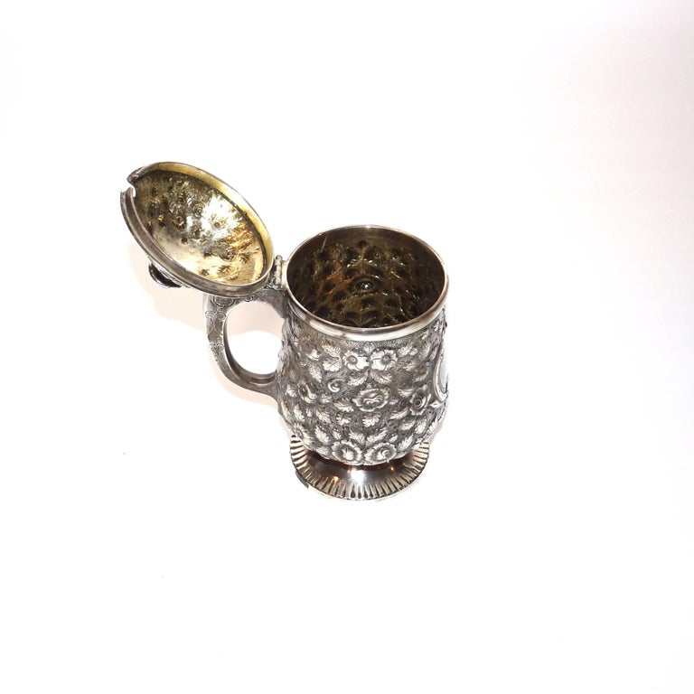 19th Century Jelly Pot in Sterling Silver By Krider & Biddle from A. E. Warner In Good Condition For Sale In Nashville, TN