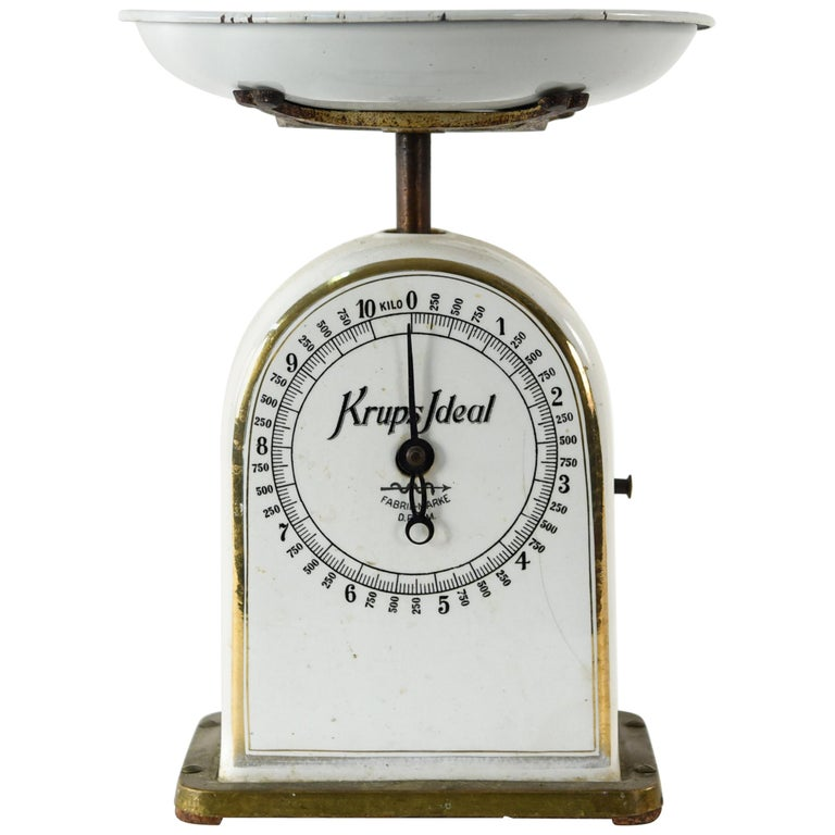 Country Kitchen Fairbanks: Antique Krups Ideal Kitchen Scale For Sale At 1stdibs
