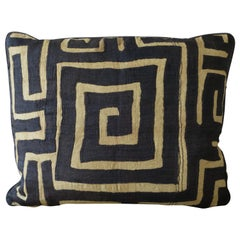 Antique Kuba Cloth Pillow