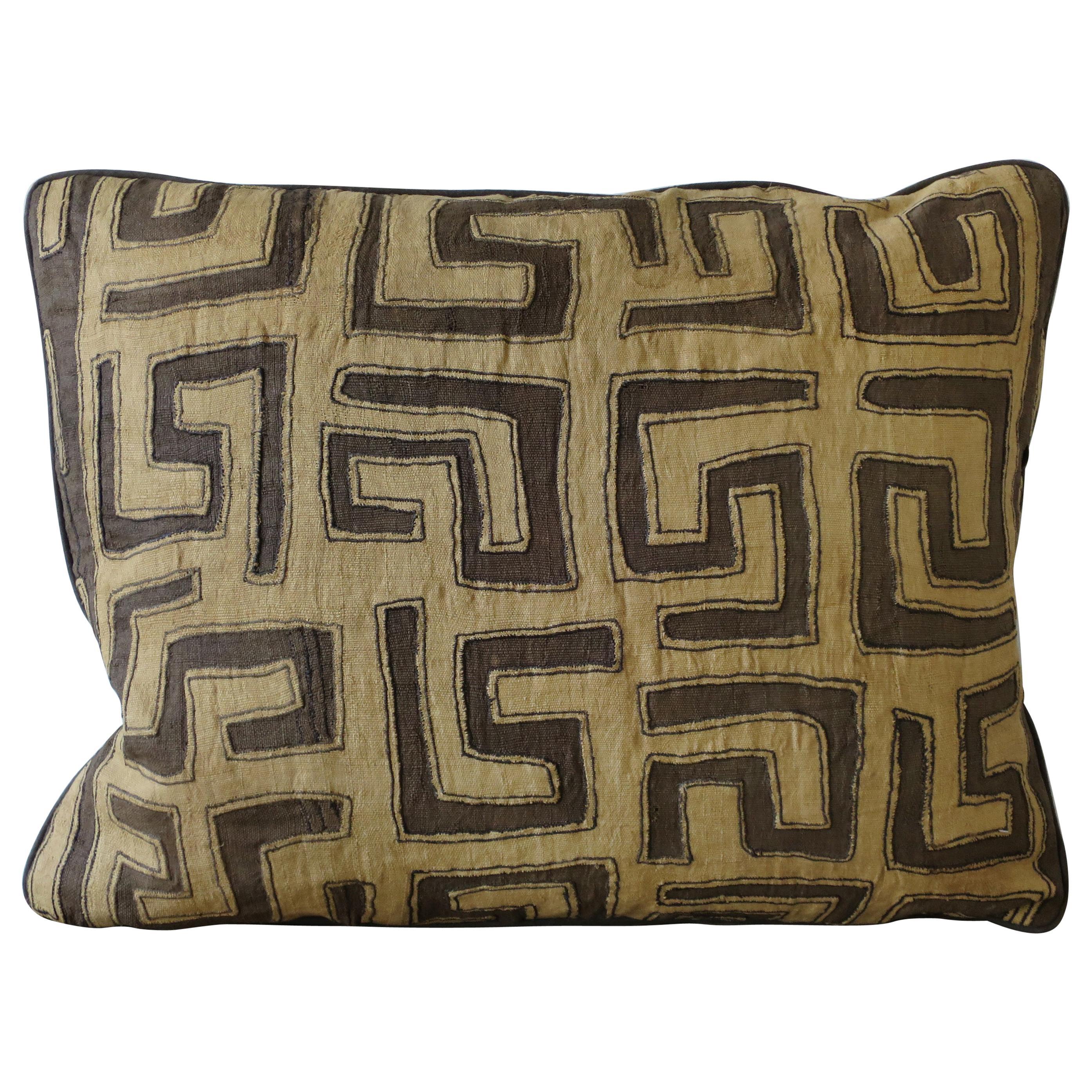 Kuba cloth pillow   Etsy
