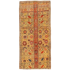 Antique Kurdish Bidjar Persian Sampler Rug
