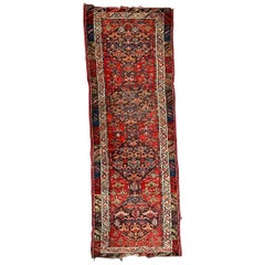 Antique Kurdish Malayer Rug