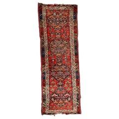 Antique Kurdish Malayer Rug