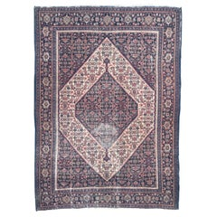 Antique Kurdish Seneh Rug