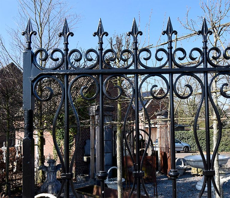 Early 19th Century Antique Large Double Entry Gate, 19th Century For Sale
