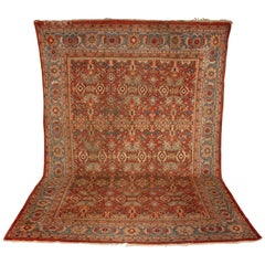 Antique Large, Fine Orient Rug, Carpet, Hand Knotted