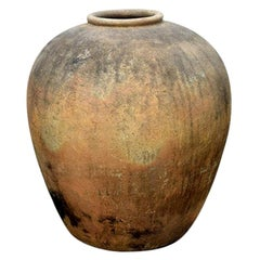 Antique Large Scale Clay Vase