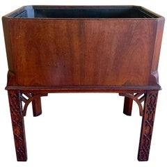 Antique Late 18th Century Mahogany Cellarette on Stand