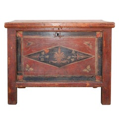 Antique Latvian Dowry Chest