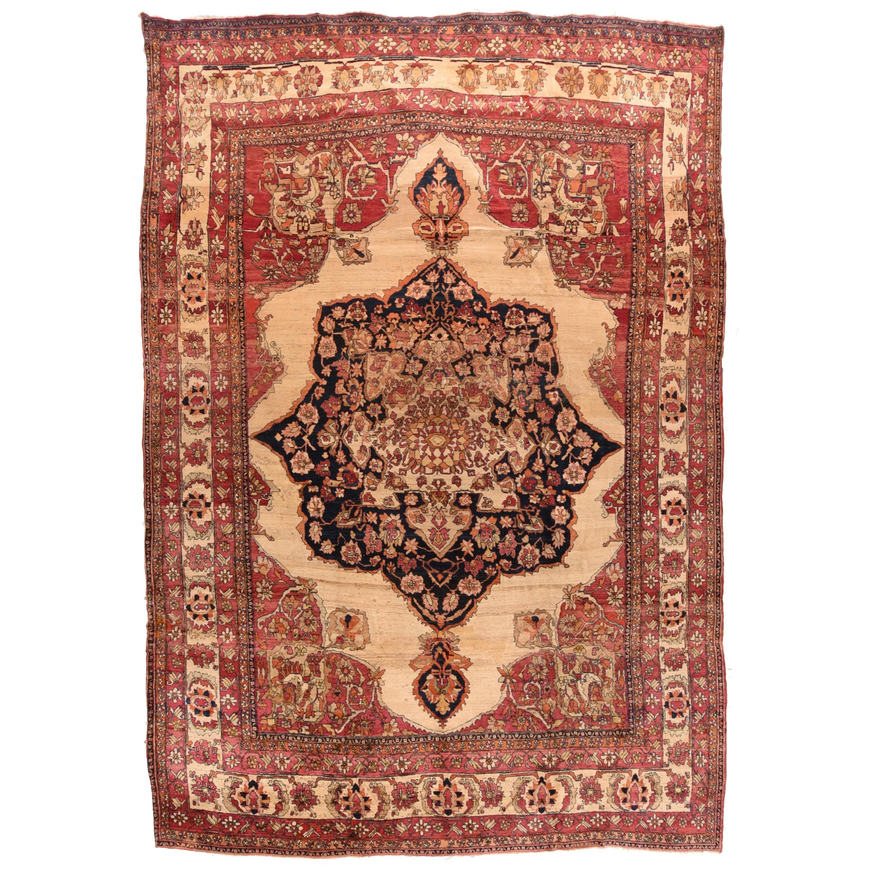 Antique Persian Lavar Kerman