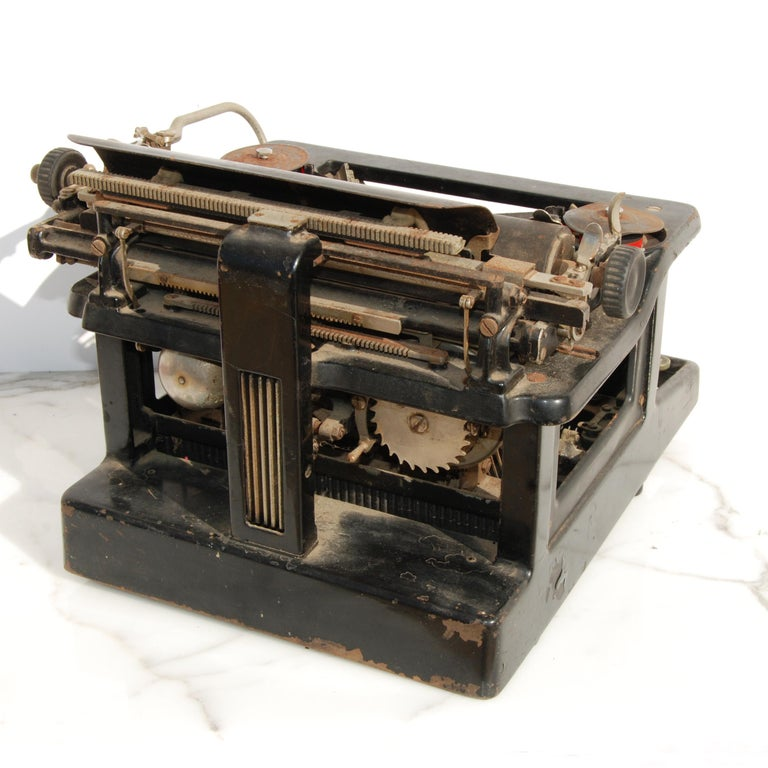 Early 20th Century Antique LC Smith & Corona Typewriter, circa 1920s For Sale