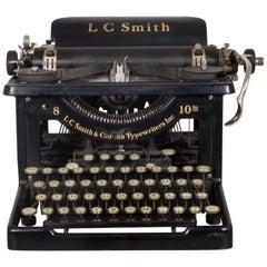 Antique LC Smith & Corona Typewriter, circa 1926