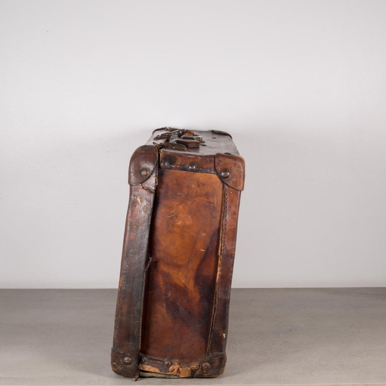 Antique Leather Luggage Circa 1940s For Sale At 1stdibs