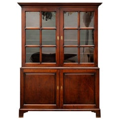 Antique Library Display Cabinet