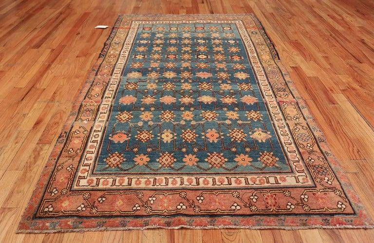Antique Light Blue East Turkestan Khotan Rug For Sale 6