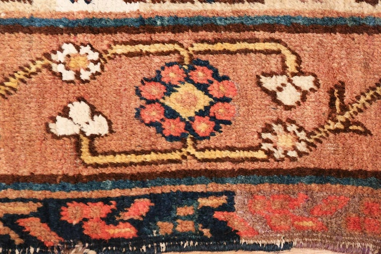 Antique Light Blue East Turkestan Khotan Rug In Excellent Condition For Sale In New York, NY
