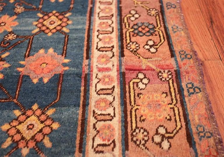 20th Century Antique Light Blue East Turkestan Khotan Rug For Sale