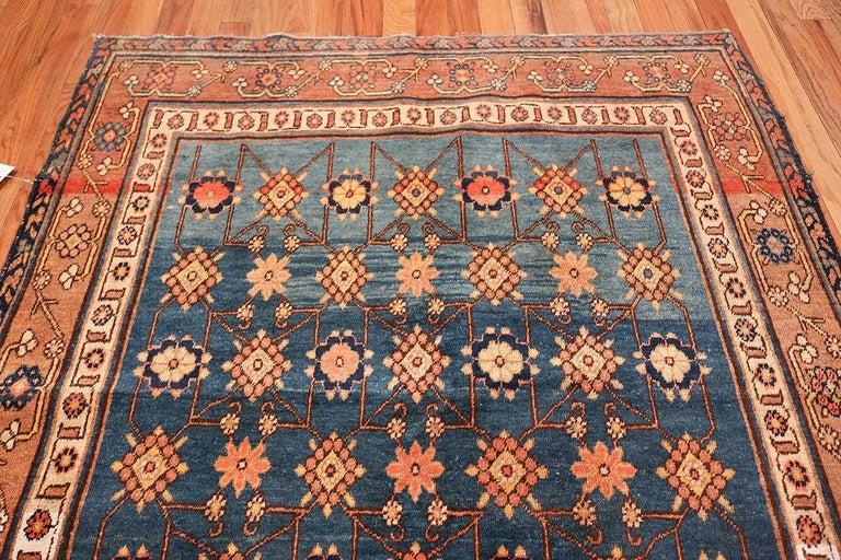 Antique Light Blue East Turkestan Khotan Rug For Sale 1