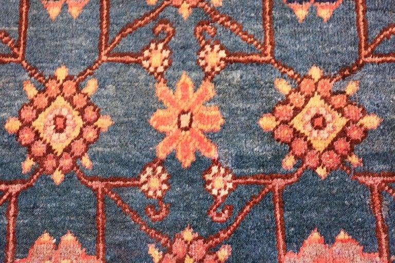 Antique Light Blue East Turkestan Khotan Rug For Sale 2
