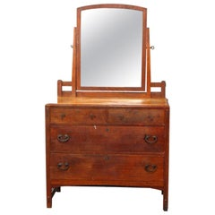 Antique Limbert Arts & Crafts Mission Oak Dresser, circa 1910