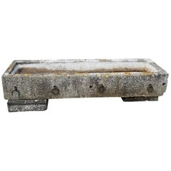Antique Limestone Trough, circa 1760