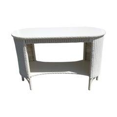 Antique Lloyd Loom Sofa Table