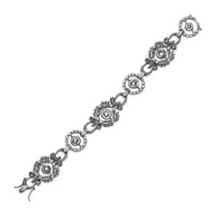 Antique Looking Diamond Bracelet