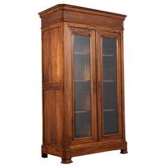 Antique Louis Philippe Bookcase