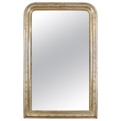 Antique Louis Philippe Silver Mirror