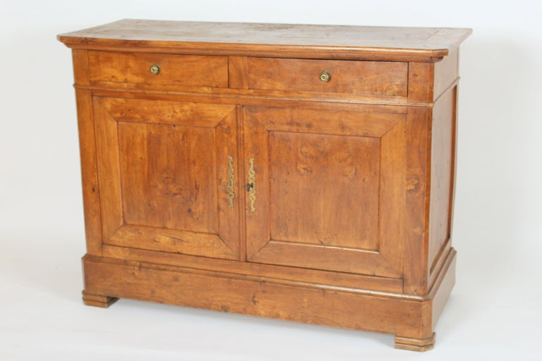European Antique Louis Philippe Style Fruitwood Buffet For Sale