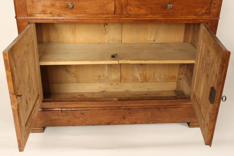 Antique Louis Philippe Style Fruitwood Buffet For Sale 2