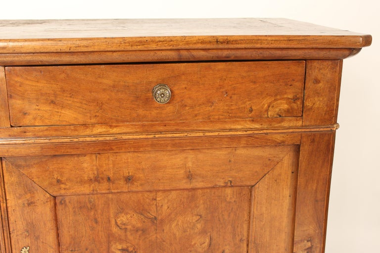 Antique Louis Philippe Style Fruitwood Buffet For Sale 4
