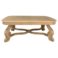 Antique Louis XIV Stripped Parquet Coffee Table