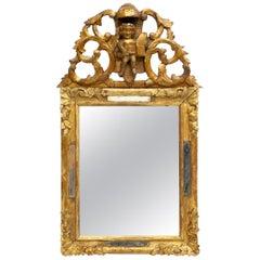 19th Century French Giltwood Louis XIV Mirror