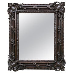 Antique Louis XIV Style Mirror in Carton-Pierre, 19th Century
