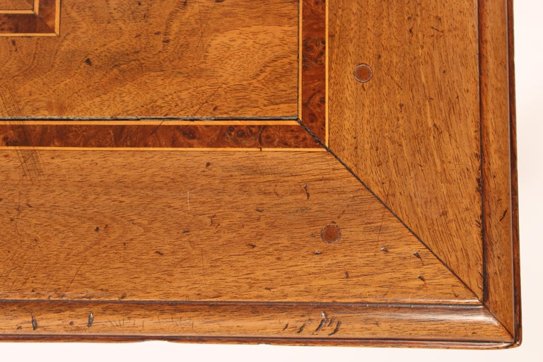 Antique Louis XIV Style Walnut Occasional Table For Sale 1