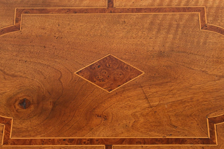 Antique Louis XIV Style Walnut Occasional Table For Sale 2