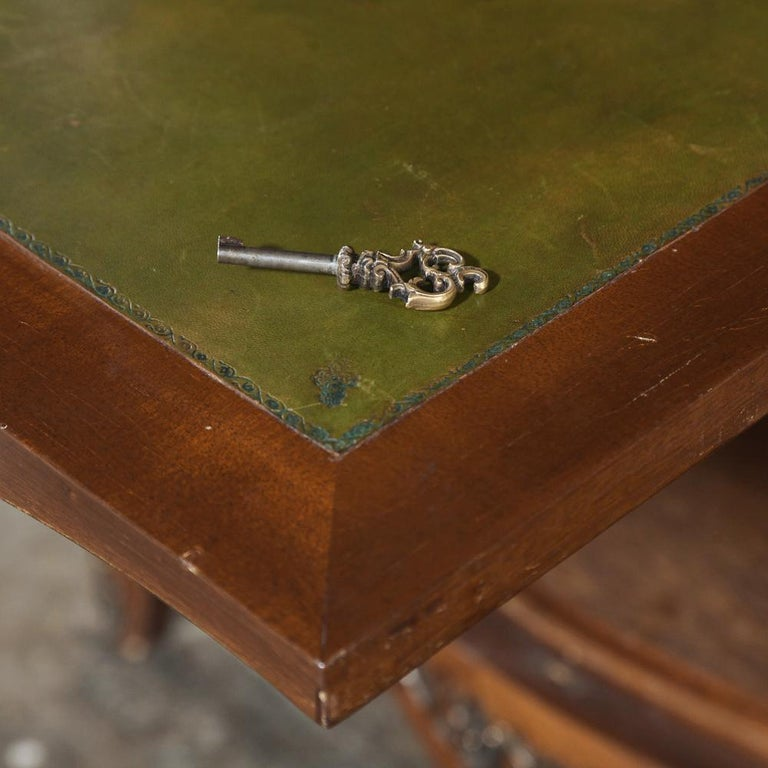 Antique Louis XV Bombe Marquetry Drop-Front Secretary For Sale 6