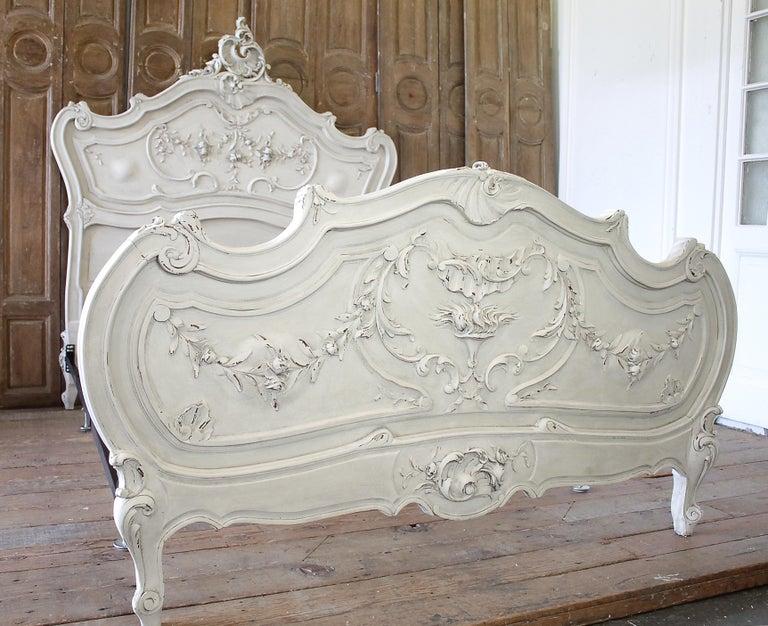 Vintage Bed Frame Rails