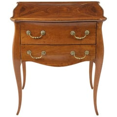 Antique Louis XV-Style Walnut Commode