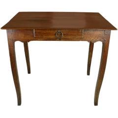 Antique Louis XV Walnut Side Table